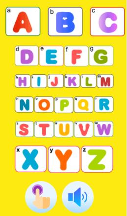 تعليم الحروف الانجليزية للاطفال